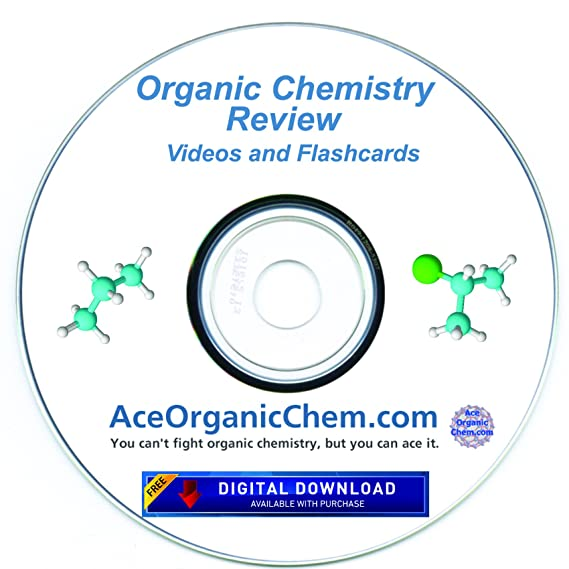 Condensed Organic Chemistry Help DVD with Digital Download option- Organic  Chemistry Study DVD with Complete Course Review Videos - by AceOrganicChem