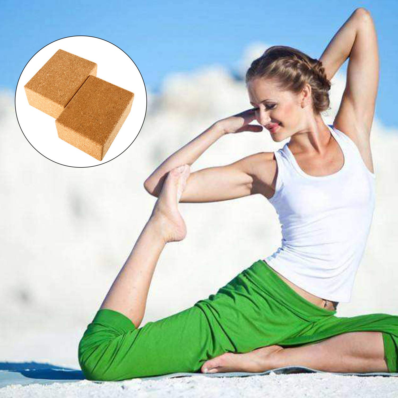 Amazon.com: Bloques de yoga Yaegoo, juego de 2, 3 pulgadas x ...