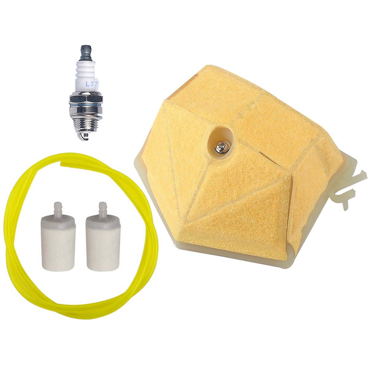Hipa Air Filter Fuel Spark Plug Line Griffin Filters Hose For Husqvarna 51 55 55epa Rancher Epa Chainsaw Garden Outdoor
