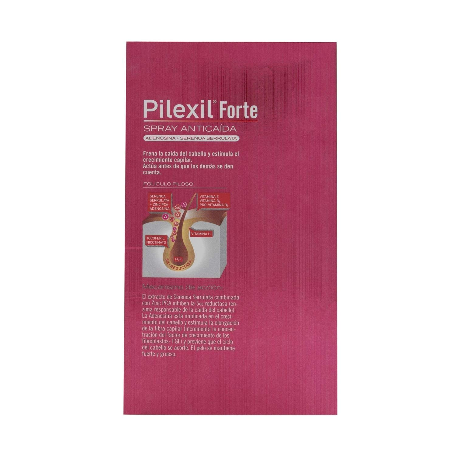 Amazon.com: Pilexil Forte Hair Loss Spray 120ML - Reinforced Formula - Combat Hair Loss and Stregthen Your Hair: Beauty