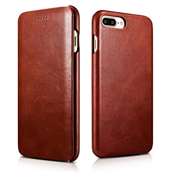 coque iphone 7 plus cuir marron