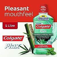 Colgate Plax Mouthwash, Bamboo Charcoal Mint, 1L