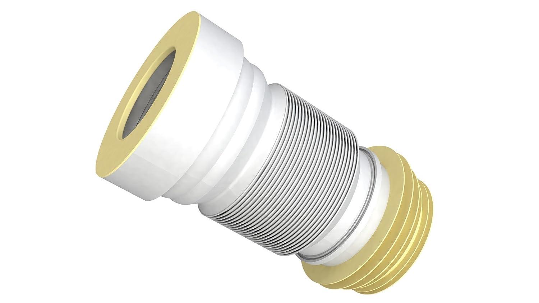 WC-Anschlusst/ück Universal DN90//110mm flexiebel L/änge min.220mm max.570mm