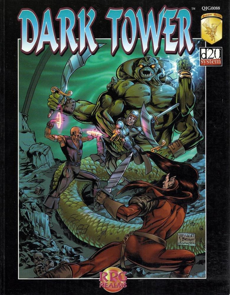 Dark Tower: Paul Jaquays: 9781558782204: Amazon.com: Books
