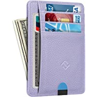 Slim Minimalist Front Pocket Wallet, Fintie RFID Blocking Credit Card Holder Card Cases with ID Window for Men Women…