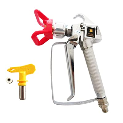 XS 3600PSI Airless Paint Spray Gun for Graco Wagner Titan Pump Sprayer & Airless Spraying Machine - with 517 Tip Nozzle Guard: Automotive