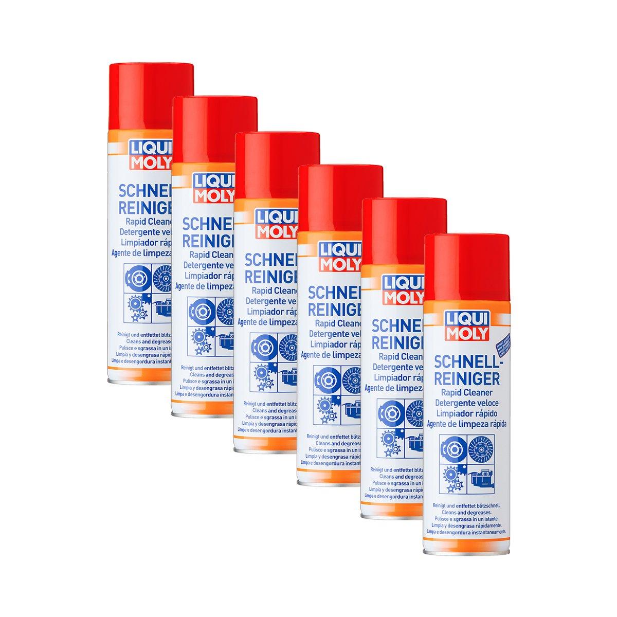 6 x Liqui Moly 3318 rá pido limpiador de freno spray limpiador 500 ml