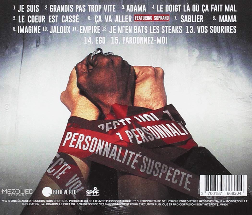 SUSPECTE GRATUIT ALBUM TÉLÉCHARGER SNIPER PERSONNALITÉ