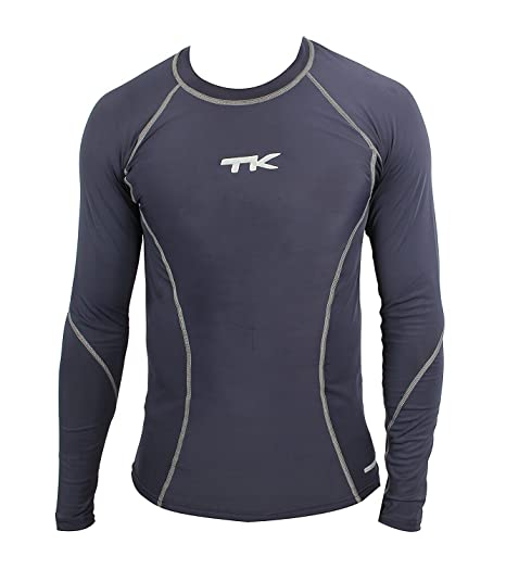 6e7e88ae342a Buy TK Sports Compression Full Sleeve Black (S) Online at Low Prices ...