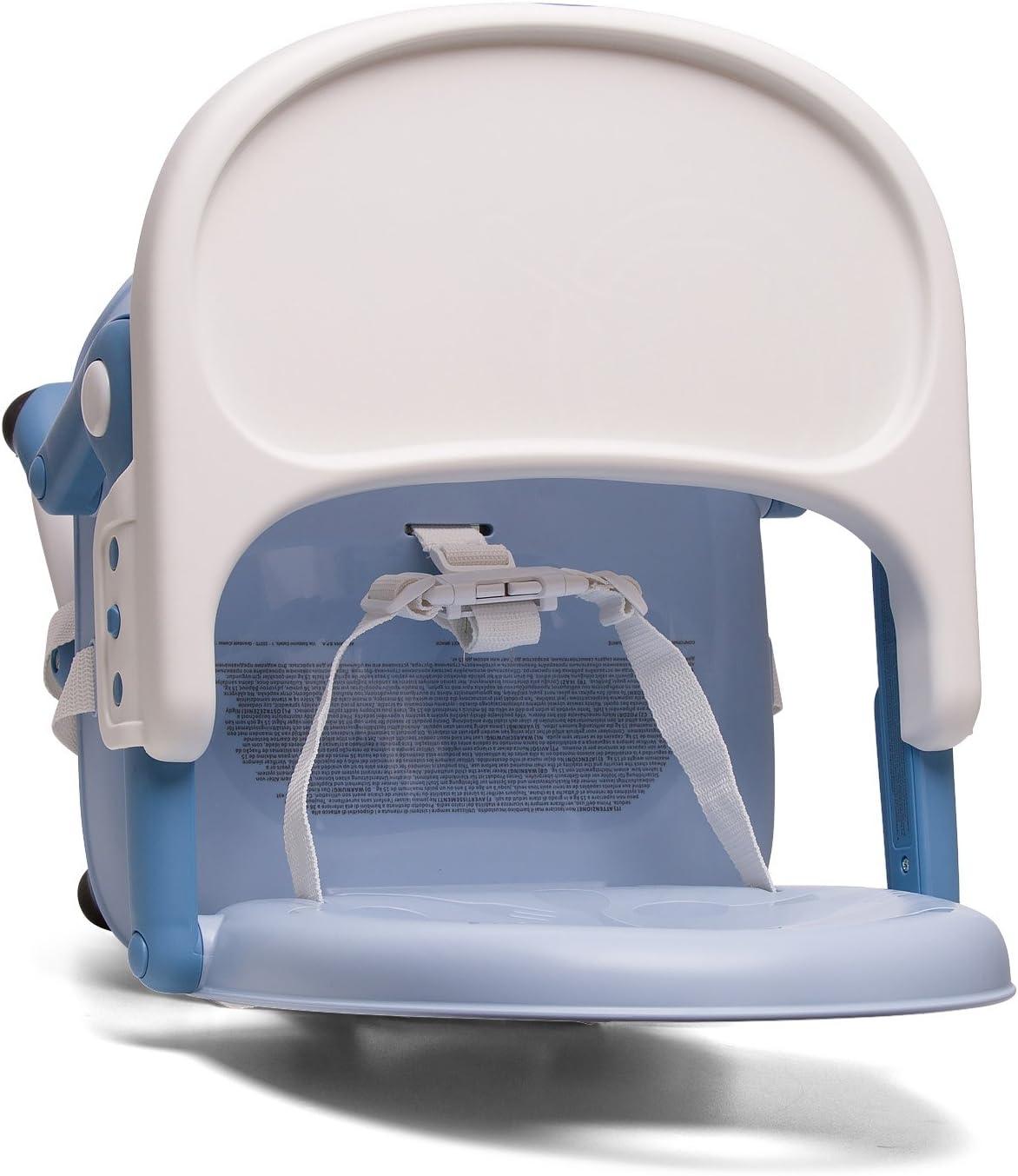 Chicco Pocket Snack - Elevador en 3 alturas, color azul: Amazon.es ...