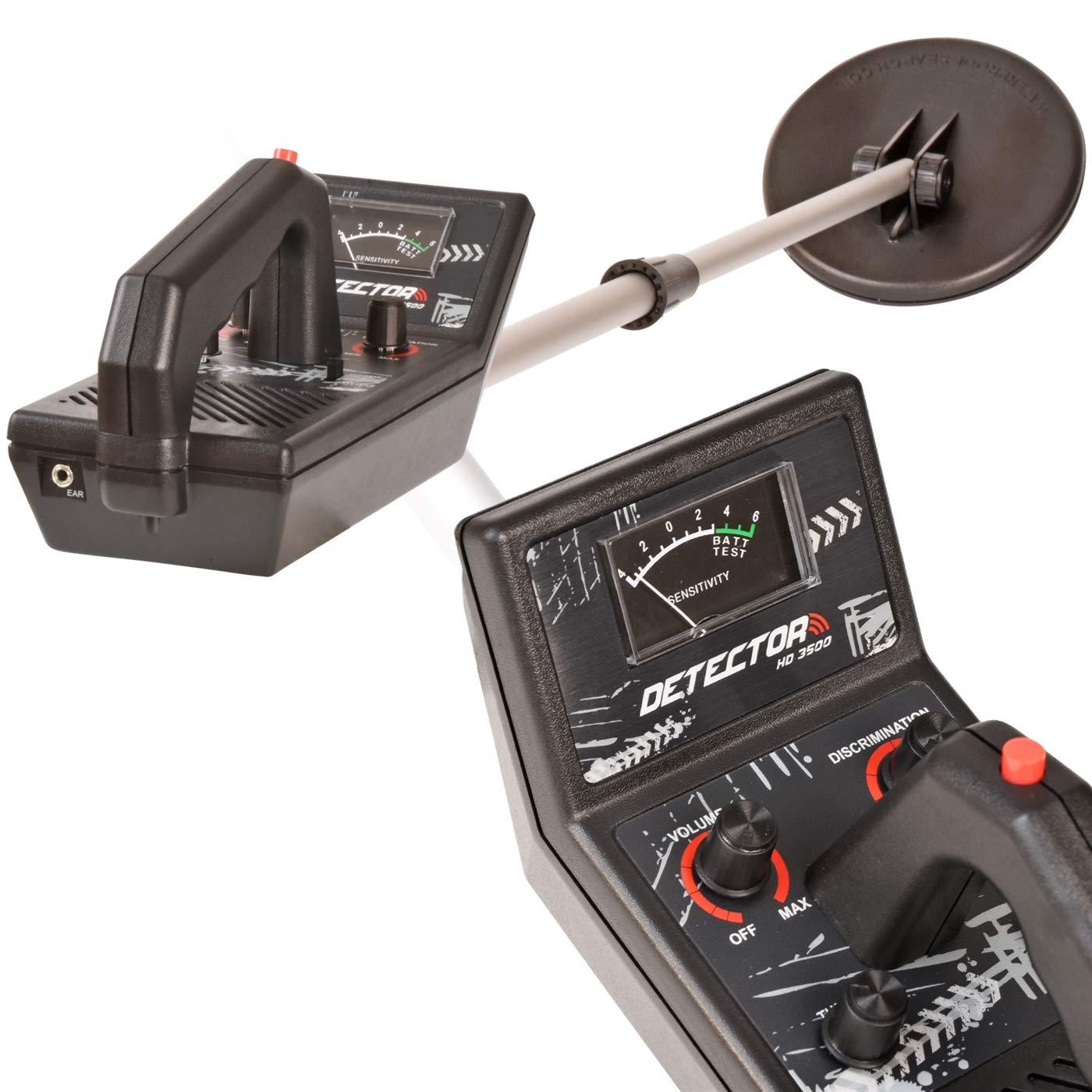 VOSS.garden Voss Detector HD 3500 - Allround Metallsuchgerät Metalldetektor Sonde Tiefensonde