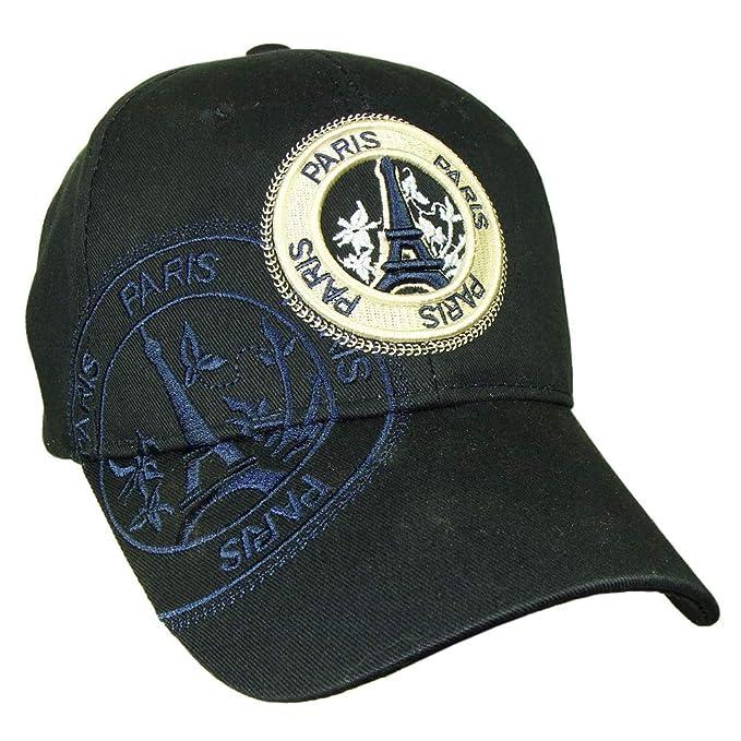 c9c443cb2b3 Paris  Stamp  Robin Ruth Men s Cap - Blue  Amazon.ca  Clothing   Accessories