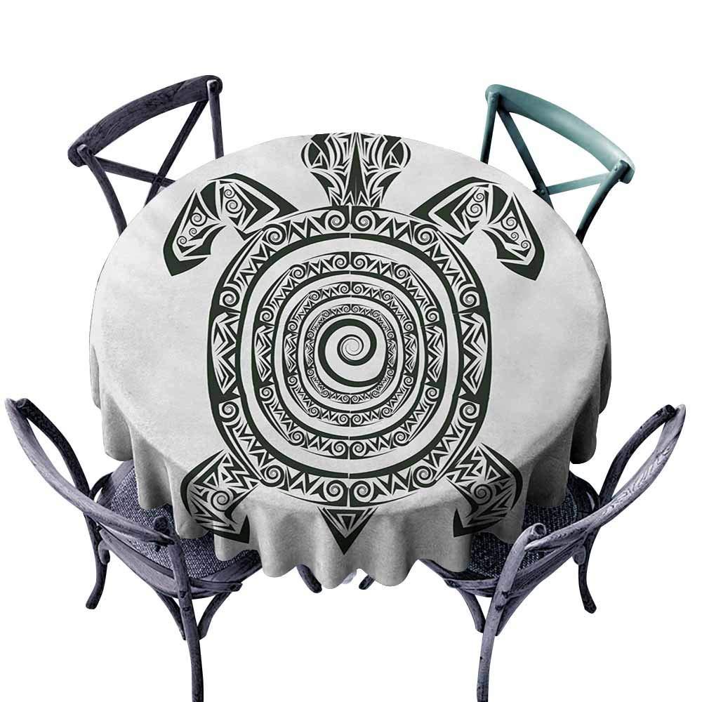 VIVIDX Fashions Mantel, Tortuga, Tatuaje maorí Estilo Figura de ...