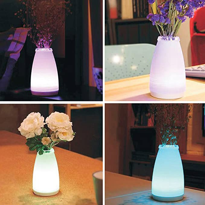 ... luz nocturna regulable atmósfera lámpara de sobremesa para dormitorio sala de estar, comedor cafetería restaurante luz cálida: Amazon.es: Iluminación