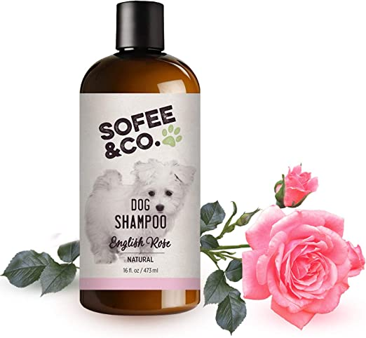 Sofee & Co. Natural Dog Puppy Shampoo - Best Shampoo for Shih Tzu Puppies