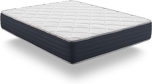Naturalex – Aura 150 x 190 cm 26 cm 26 cm de Grosor colchón de ...