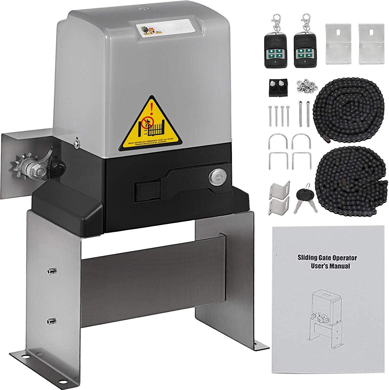 Barryblue - Abridor de puerta corredera para puertas de hasta 3300 libras con control remoto: Amazon.es: Bricolaje y herramientas