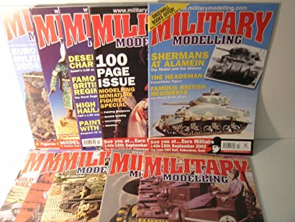Amazon com : A Set of 10 New Back Issues of Military