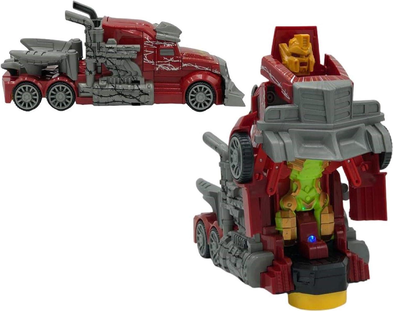 ML camion de Juguete, gandola de Juguete Robot Car Transformers Juguete para niños niñas Regalos cumpleaños Navidablanco-Transformer