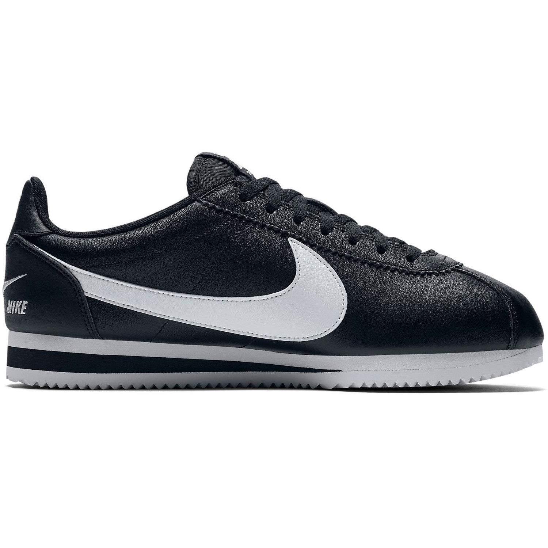 Noir (noir blanc 004) 38.5 EU Nike Classic Cortez Prem, Chaussures de Fitness Homme