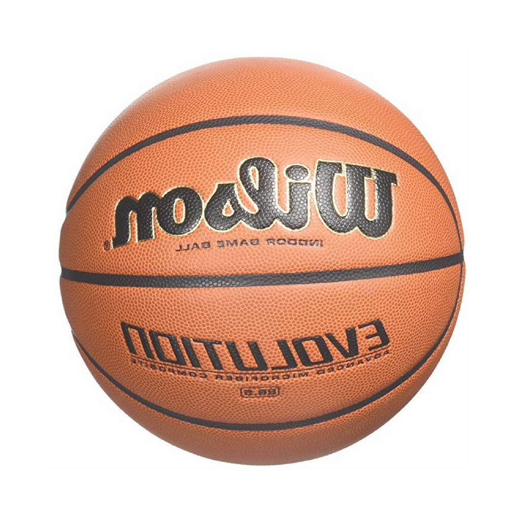 Wne Heavy Duty Indoor Basketball, Premium Quality, Leather Material, Cushion Coating, Black Color, Ideal for Indoor Use, for Beginners and Advanced & E-Book Home Decor