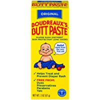 Original Boudreaux's Butt Paste Diaper Rash Ointment, 2 oz Tube