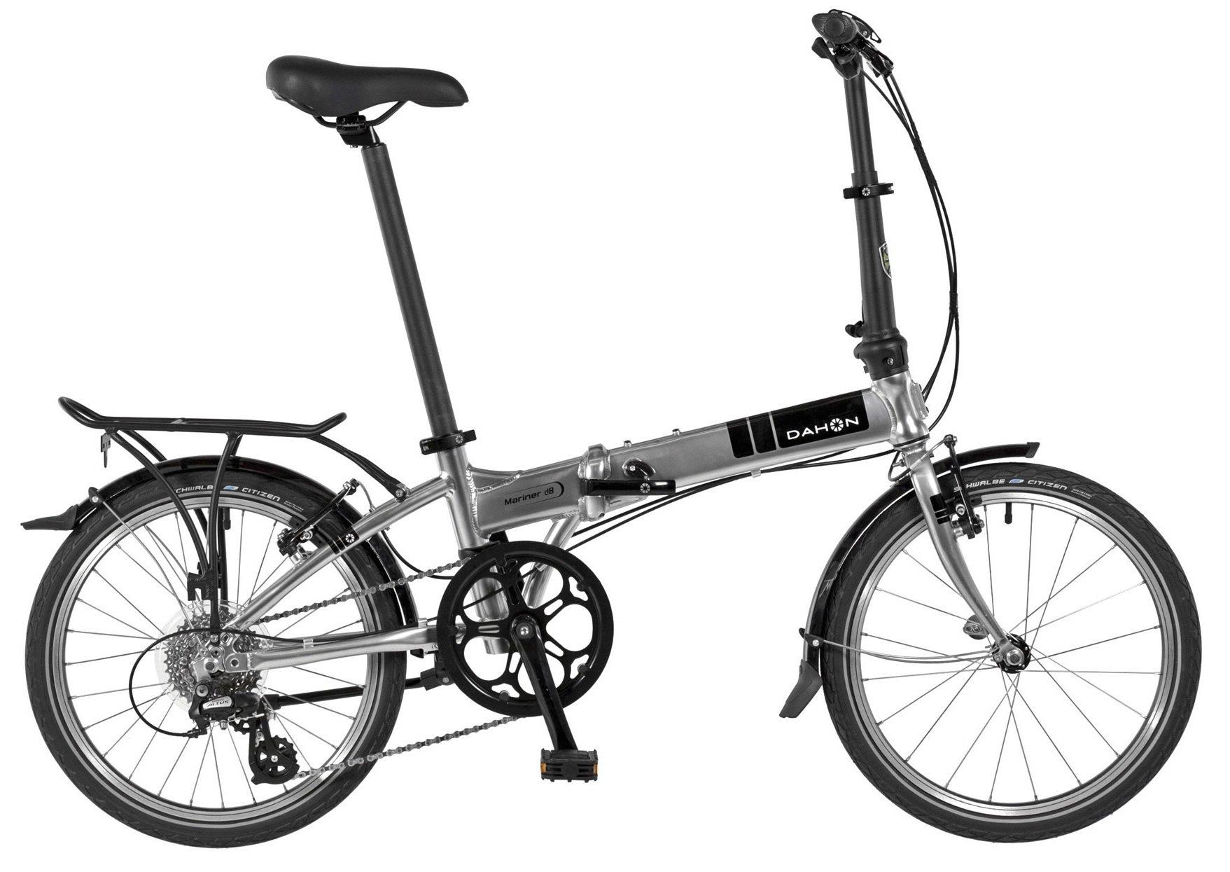 Dahon Mariner D8 Folding Bicycle Quicksilver