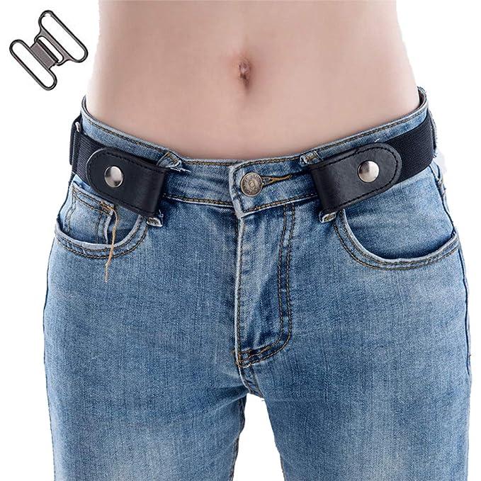 Amazon.com: Simoda Cinturón elástico sin hebilla para ...