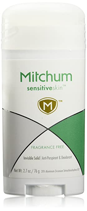 Mitchum Sensitive skin Fragrance Free Anti-Perspirant, 2.7 Ounce