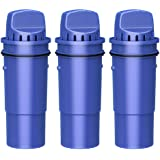 Overbest CRF-950Z Pitcher Water Filter, Replacement for Pur Pitchers and Dispensers PPT700W, CR-1100C, DS-1800Z and PPF951K,