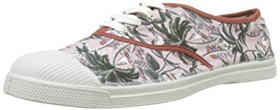 9c12cdca2893e1 Bensimon - H15004C18B - TENNIS LACETS SURF PRINTS - Baskets - Homme -  Multicolore (Imprime