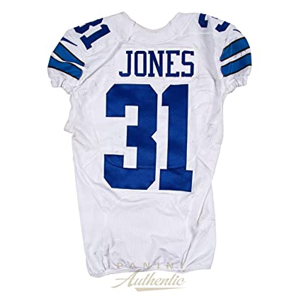 Byron Jones Game Worn Dallas Cowboys Jersey From 10 9 2016 vs the ... 9dd767a9a