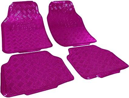 Alfombra para coches universal 4 PZAS alfombra en 4 colores Moqueta