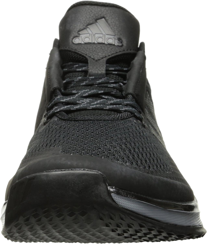 adidas Herren 5-Star Freak X Carbon Mid Football-Schuhe Schwarz Schwarz Eisen Metallic