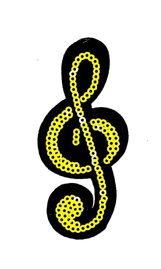 Parche De Dibujos Animados Little Bear Shop Con Notas Musicales De