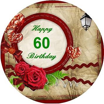 Tortenaufleger zum 60 geburtstag