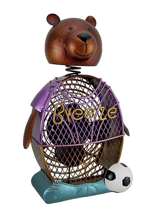 Deco Breeze fútbol oso decorativo Metal Figura decorativa ...