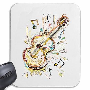 Mousepad alfombrilla de ratón Guitarra Violín Vintage Bass TECHNO JAZZ DJ cobarde ALMA TRANCE FESTIVAL DE
