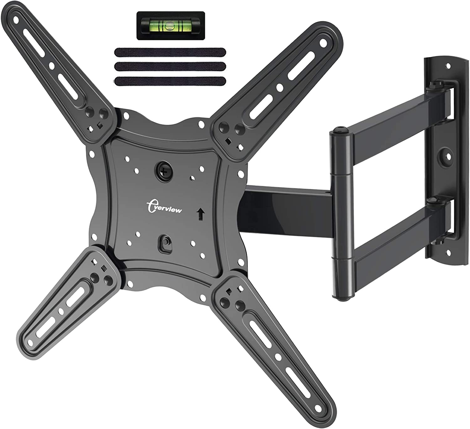 Tv Wall Mount Bracket Fits To Most 26 55 Inch Led Lcd Oled Flat Panel Tvs Tilt Full Motion Swivel Articulating Arms Tv Bracket Vesa 400x400 77lbs Loading With Hdmi Cable Cable Ties Everview Amazon Ca Electronics
