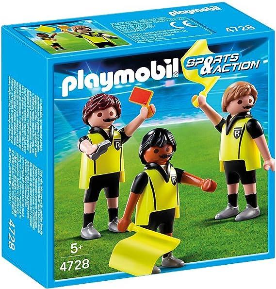 Playmobil Fútbol - Fútbol Trío Arbitral (4728): Amazon.es ...
