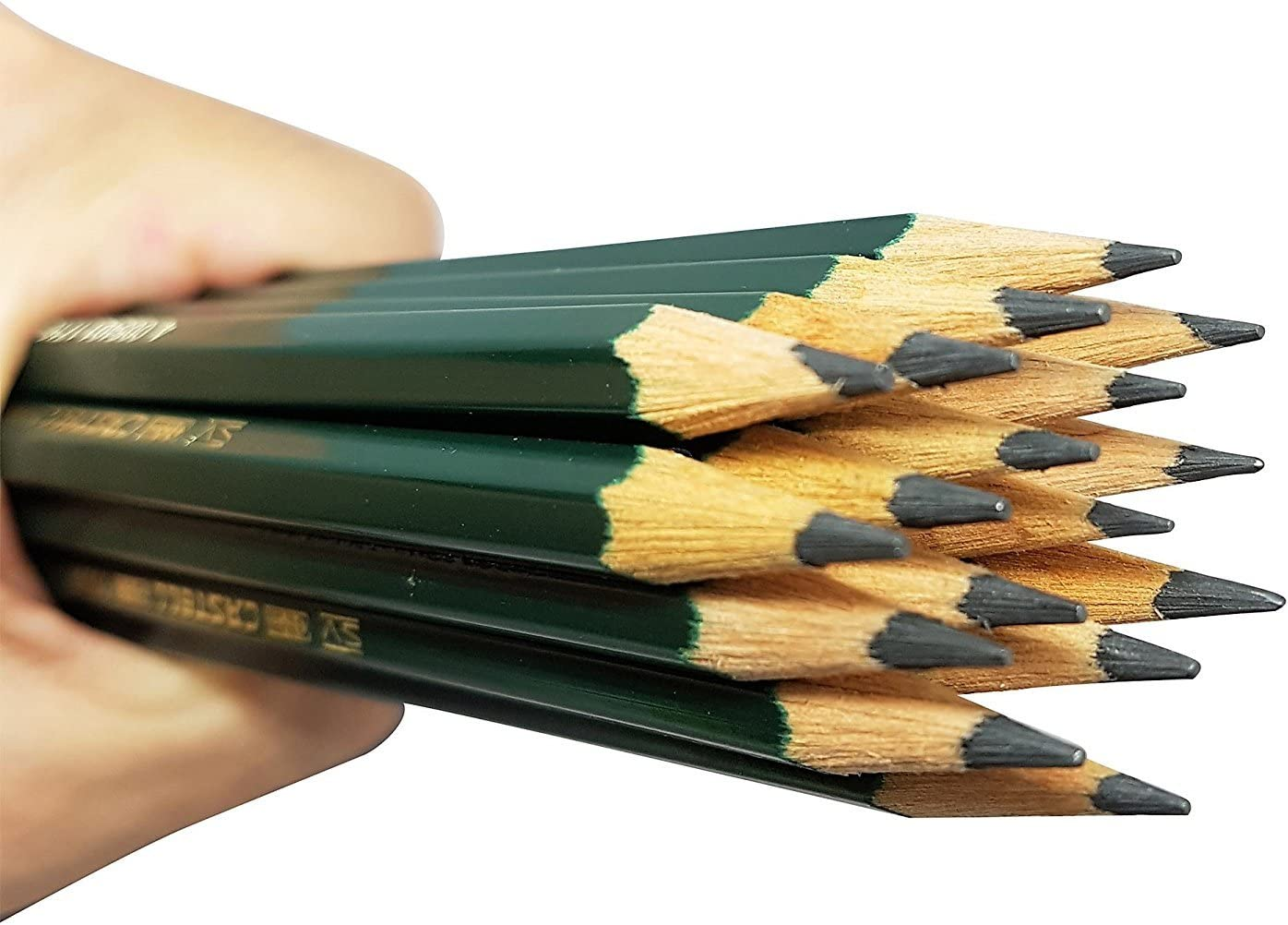 Faber-Castell Pencils sketch HB No.2 Pencil for drawing HB writing artist shading 12 pack Castell 9000 Art graphite pencils school supplies pencils