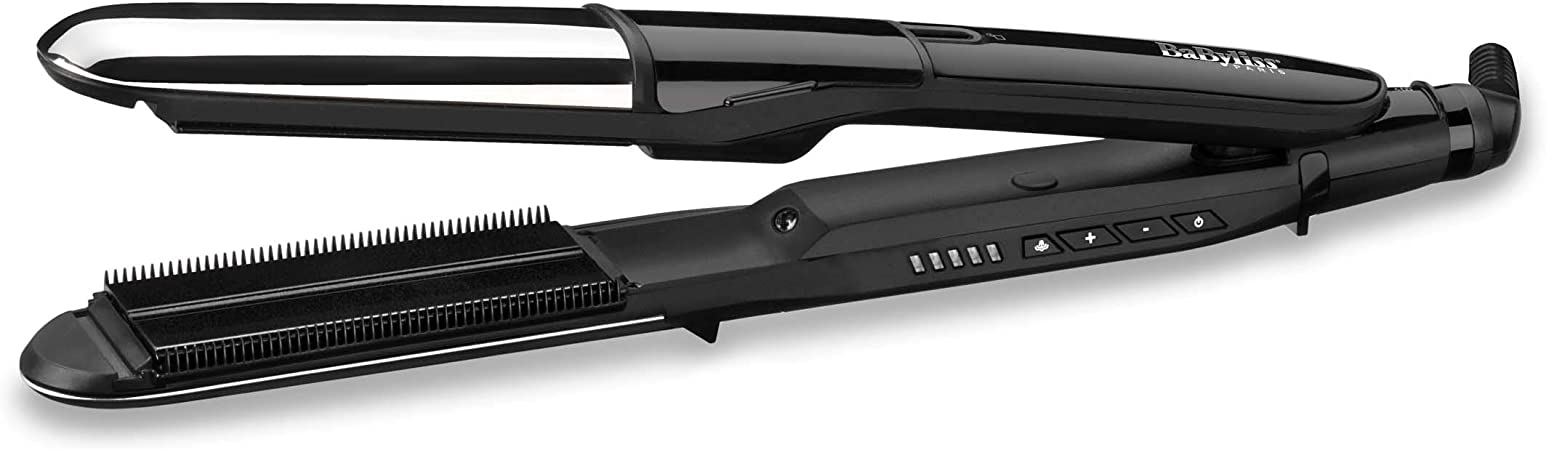 BaByliss Paris stoom stijltang Steam Ionic Straight&Curl