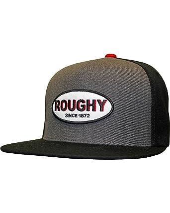 meet af3ec 6dc80 Hooey Men s Roughy Five Panel Baseball Cap Grey OS