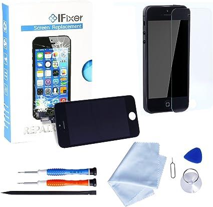 Ifixer iPhone 5s Pantalla LCD Cristal Vidrio Templado ...