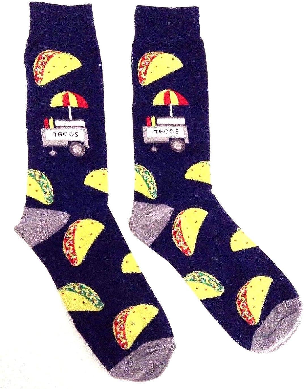 Fast Food Munchies Crew Socks