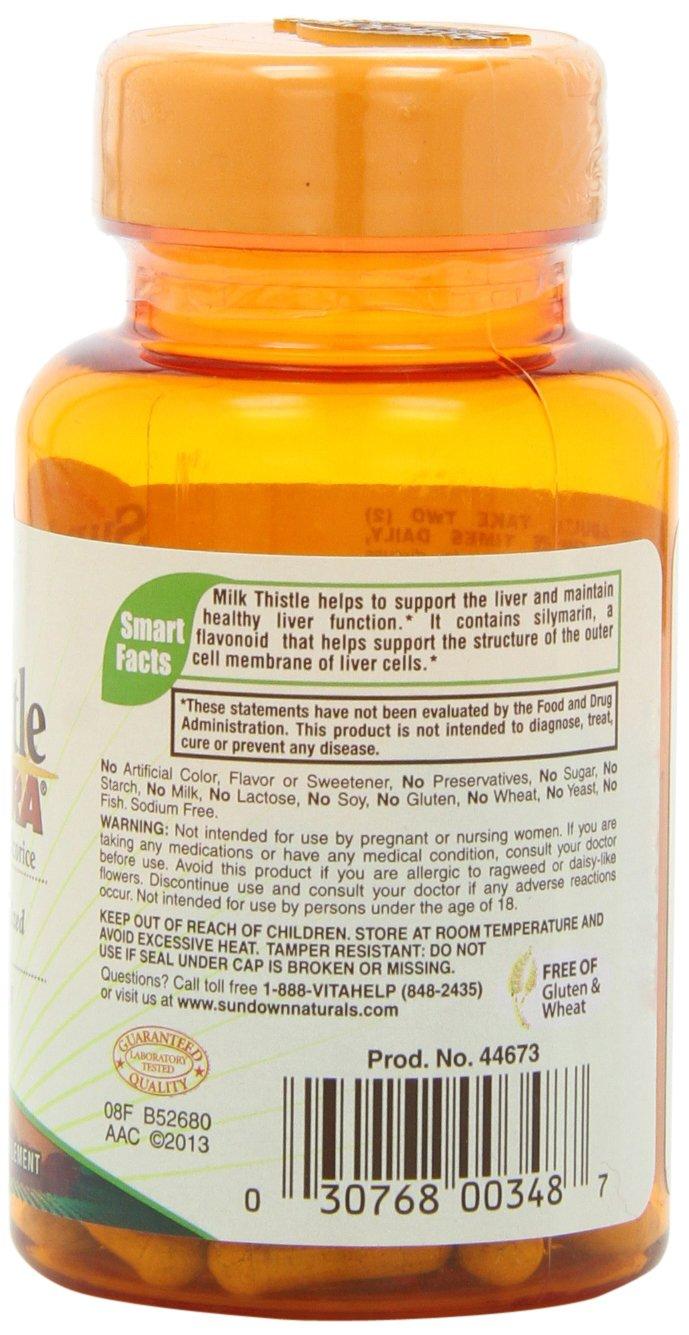 Sundown Naturals Milk Thistle 240 mg, 60 Capsules by Sundown Naturals (Image #6)