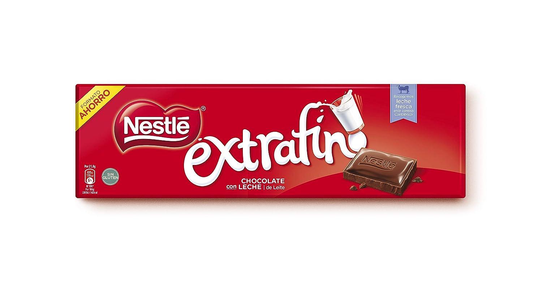 Nestlé Extrafino Chocolate Con Leche - Tableta de Chocolate - 15x300 g: Amazon.es: Alimentación y bebidas