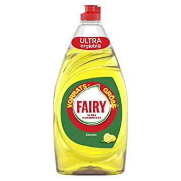 Fairy Ultra concentrado - Lavavajillas, limón, pack de 8 (8 ...