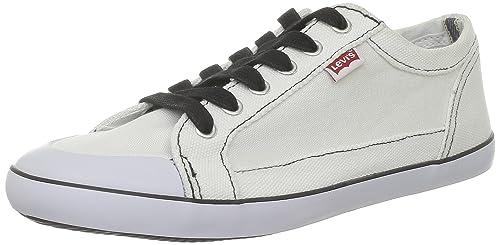Levis 219043 - Zapatillas de Tela para Hombre, Color Blanco, Talla 42