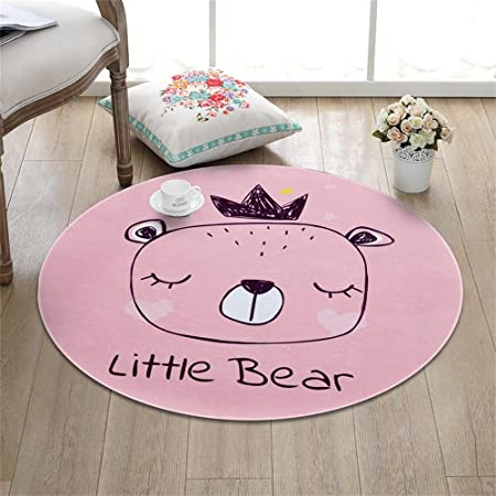 XIN SHOP- Cartoon Round carpet Round Mats Children Rug Computer ...